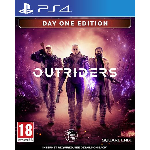 Outsiders Day One for PlayStation 4