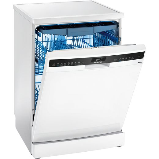 Siemens IQ-500 SN25ZW49CE Wifi Connected Standard Dishwasher - White - C Rated