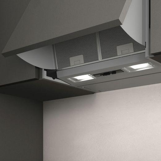 NEFF N30 D61MAC1X0B 60 cm Integrated Cooker Hood - Silver - D Rated