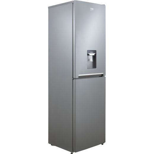Beko CRFG3582DS 50/50 Frost Free Fridge Freezer - Silver - F Rated