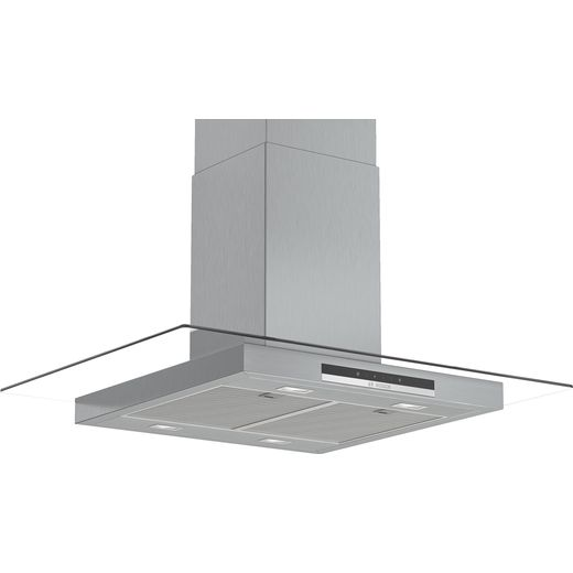 Bosch Serie 4 DIG97IM50B 90 cm Island Cooker Hood - Stainless Steel - B Rated