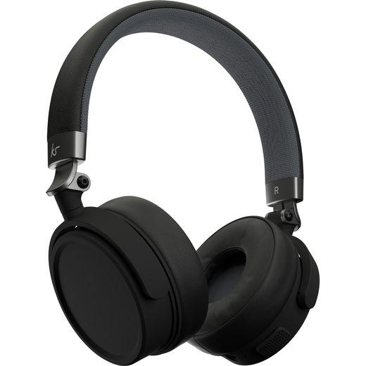 Kitsound Accent 60 Head-band Bluetooth Headphones - Black