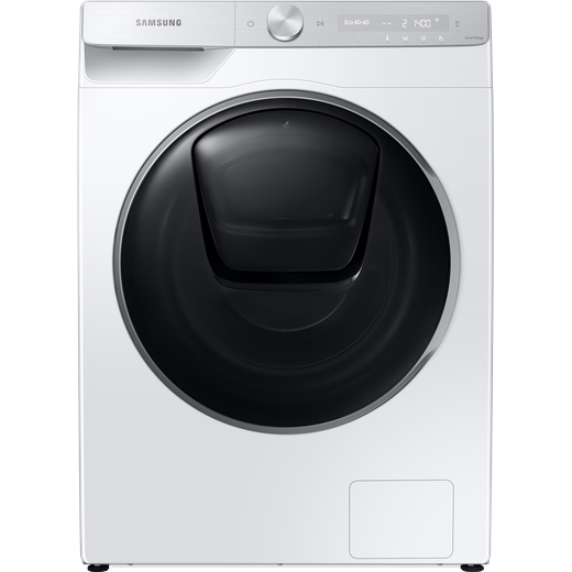 Samsung Series 9 QuickDrive™ AddWash WW90T986DSH Wifi Connected 9Kg Washing Machine with 1600 rpm - White - A Rated