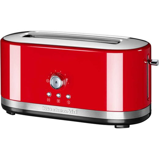 KitchenAid 5KMT4116BER 4 Slice Toaster - Empire Red