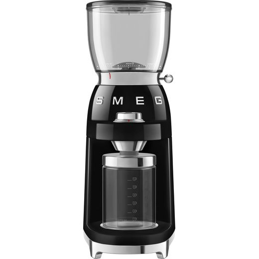 Smeg 50's Retro CGF01BLUK Coffee Grinder - Black