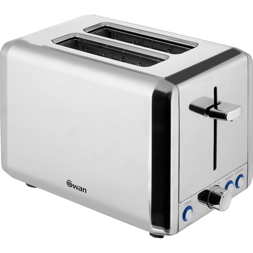 Swan Classic ST14062N 2 Slice Toaster - Polished Stainless Steel