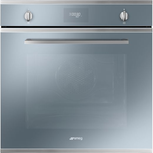 Smeg Cucina SFP6401TVS1 Built In Electric Single Oven - Silver - A+ Rated