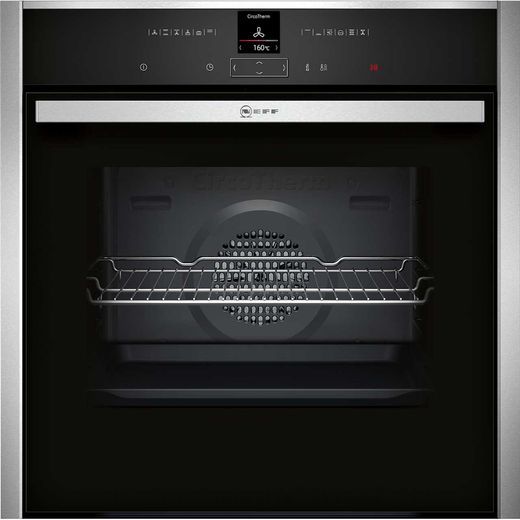 NEFF N70 B17CR32N1B Built In Electric Single Oven - Stainless Steel - A+ Rated