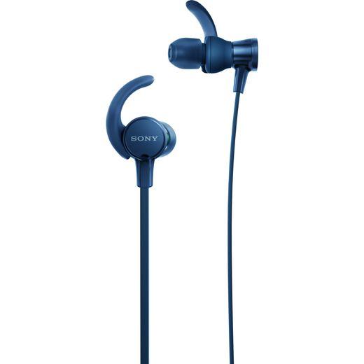 Sony MDR-XB510 In-Ear Sports Headphones - Blue