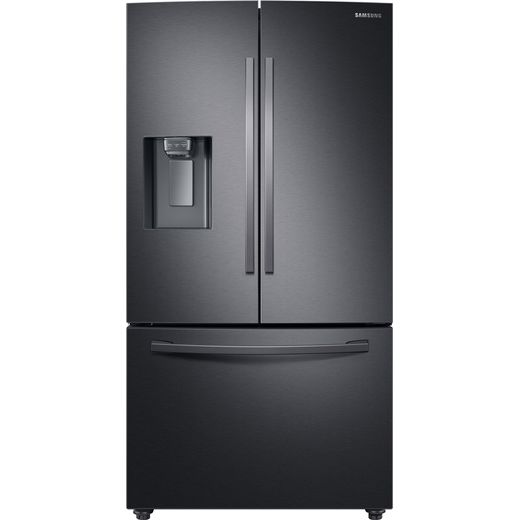 Samsung RF23R62E3B1 American Fridge Freezer - Black / Stainless Steel - F Rated