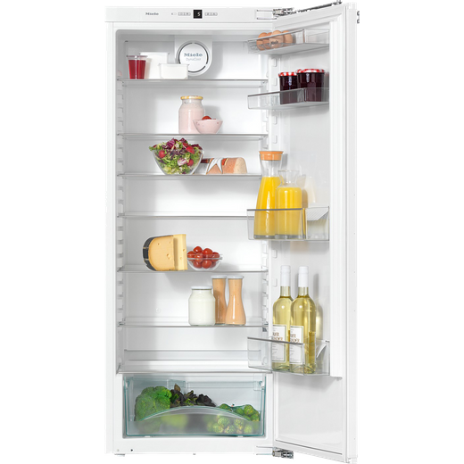 Miele PureLine K35222iD Integrated Upright Fridge - Fixed Door Fixing Kit - White - F Rated
