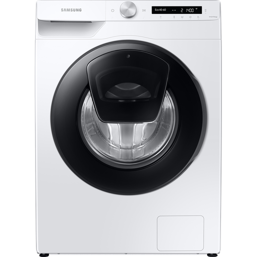 Samsung Series 5+ AddWash™ WW80T554DAW Wifi Connected 8Kg Washing Machine with 1400 rpm - White - B Rated