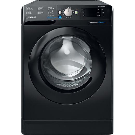 Indesit BWE91484XKUKN 9Kg Washing Machine with 1400 rpm - Black - C Rated