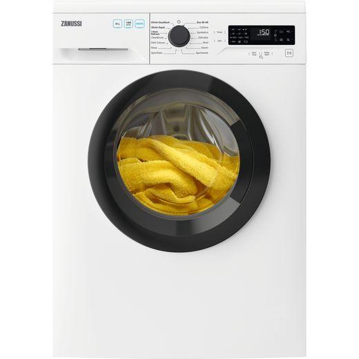 Zanussi ZWF845B4DG 8Kg Washing Machine with 1400 rpm - White - E Rated