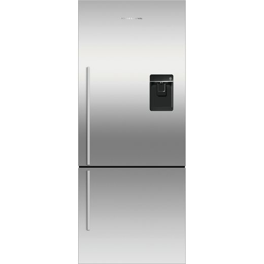 Fisher & Paykel RF442BRXFDU5 Frost Free Fridge Freezer - Stainless Steel - F Rated