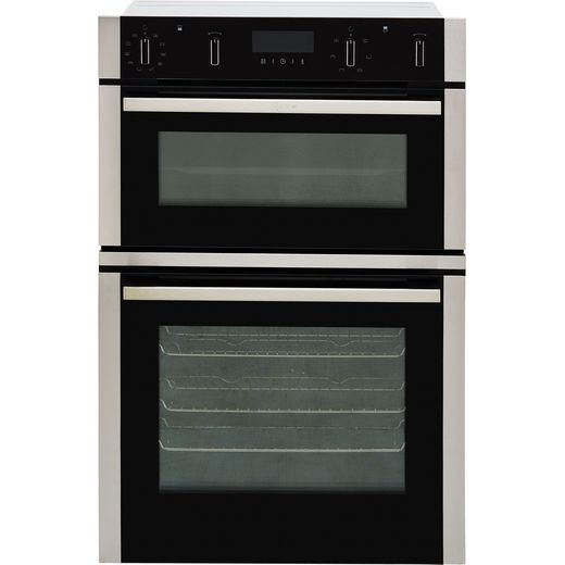 NEFF N50 U2ACM7HN0B Built In Electric Double Oven - Stainless Steel - A/B Rated