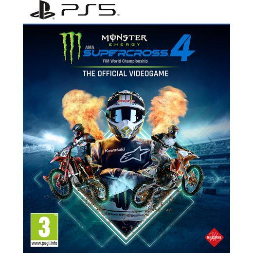 Monster Energy Supercross for PlayStation 5 .