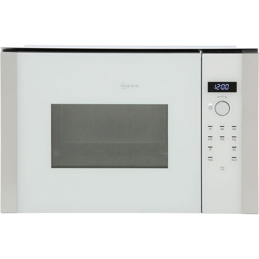 NEFF N50 HLAWD53W0B Built In Microwave - White