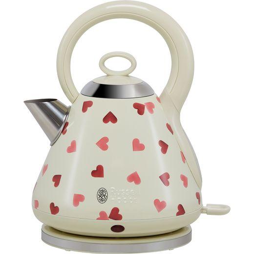 Russell Hobbs Emma Bridgewater Pink Hearts Design 28330 Kettle - Cream