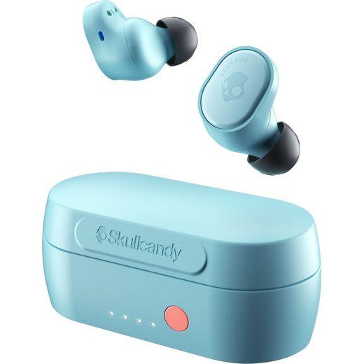 Skullcandy Sesh Evo In-Ear Water Resistant Wireless Bluetooth Headphones - Blue