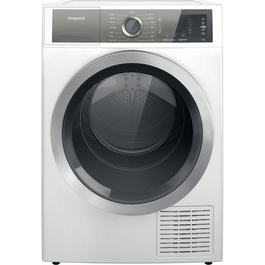 Hotpoint H8D94WBUK Heat Pump Tumble Dryer - White - A+++ Rated