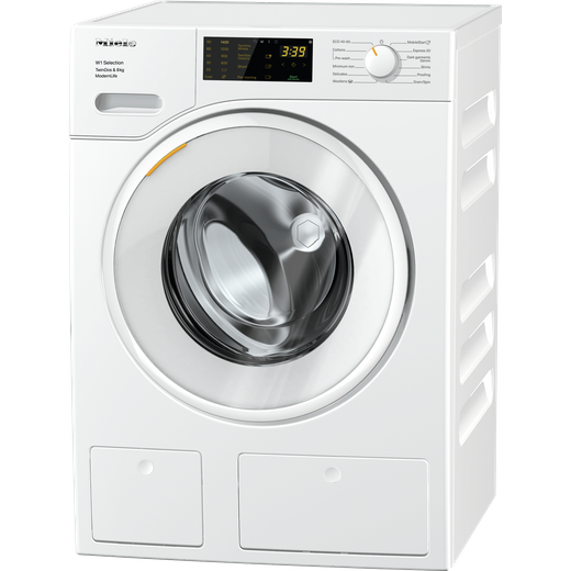 Miele W1 WSD663 8Kg Washing Machine - White - A Rated