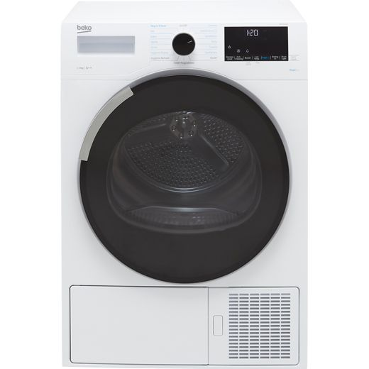 Beko DPHY9P46W 9Kg Heat Pump Tumble Dryer - White - A++ Rated