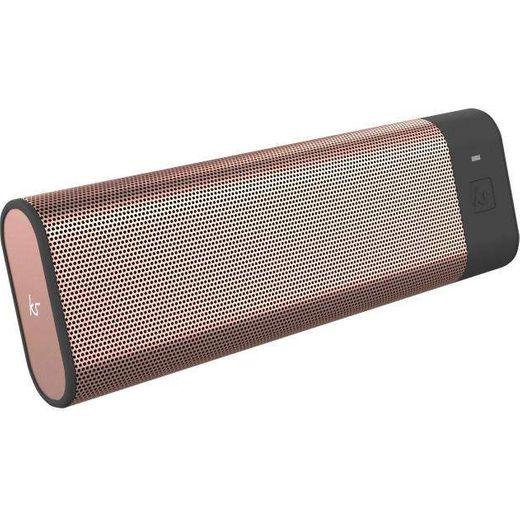 Kitsound Wireless Speaker - Gold