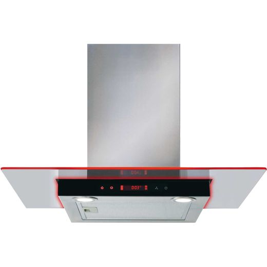 CDA EKN70SS 70 cm Chimney Cooker Hood - Stainless Steel - D Rated