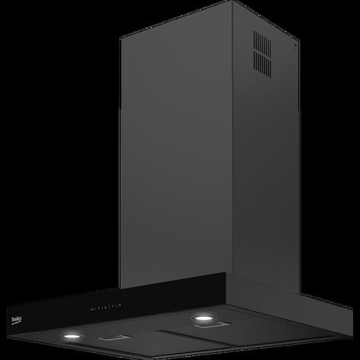 Beko HCB63741BDX 60 cm Chimney Cooker Hood - Dark Steel - D Rated
