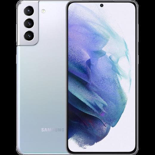 Samsung Galaxy S21+ 5G 128GB Smartphone in Phantom Silver
