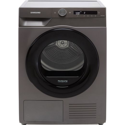 Samsung Series 5+ OptimalDry™ DV80T5220AN Wifi Connected 8Kg Heat Pump Tumble Dryer - Graphite - A+++ Rated