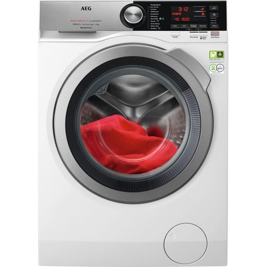 AEG OkoMix Technology L8FEC966CA Wifi Connected 9Kg Washing Machine with 1600 rpm - White - B Rated