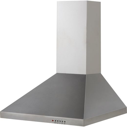 CDA ECH61SS 60 cm Chimney Cooker Hood - Stainless Steel - E Rated