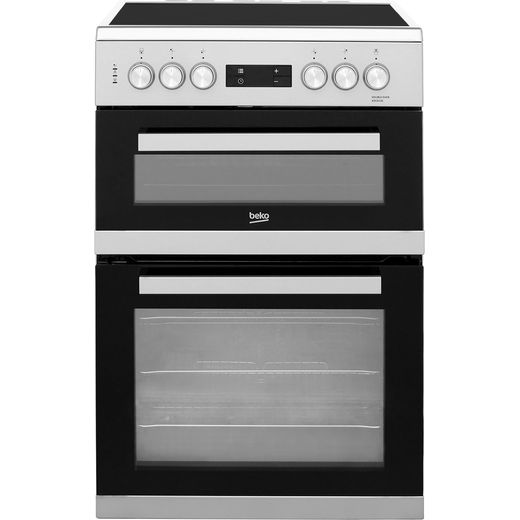 Beko KDC653S Electric Cooker - Silver - Needs 10KW Electrical Connection