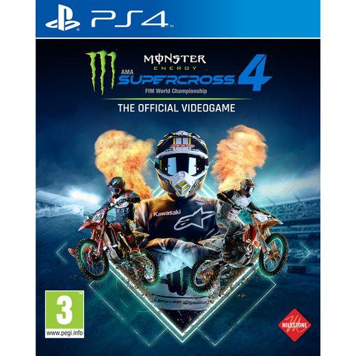 Monster Energy Supercross for PlayStation 4