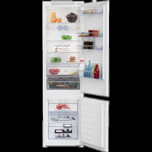 Beko HarvestFresh BCFDV3973 Built In Fridge Freezer - White