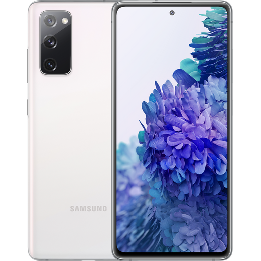 Samsung Galaxy S20 FE 5G 128 GB Smartphone in Cloud White