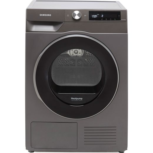 Samsung Series 6 OptimalDry™ DV90T6240LN Wifi Connected 9Kg Heat Pump Tumble Dryer - Graphite - A+++ Rated