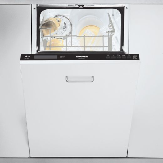 Hoover HDI2D949/E Fully Integrated Slimline Dishwasher - Black Control Panel - E Rated