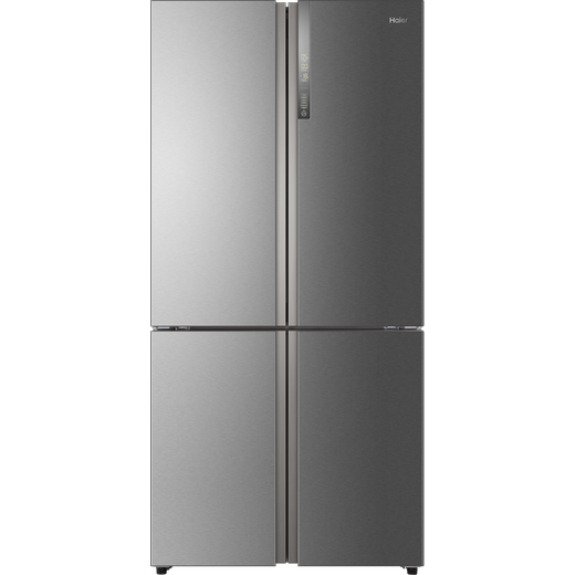 Haier HTF-610DM7 American Fridge Freezer - Stainless Steel Effect - F Rated