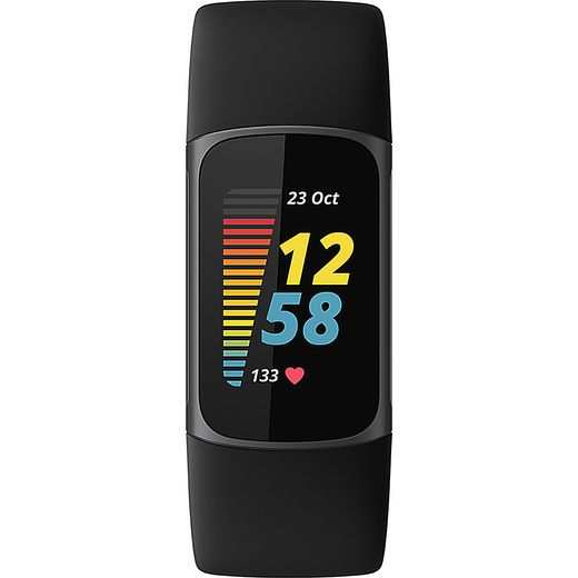 Fitbit Charge 5 FB421SRBU Fitness Tracker - Graphite Black