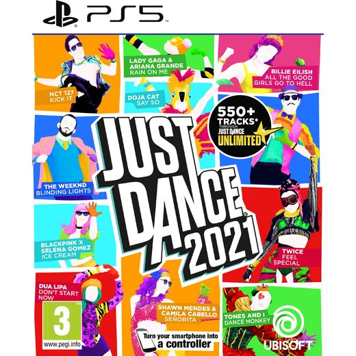 Just Dance 2021 for PlayStation 5 .