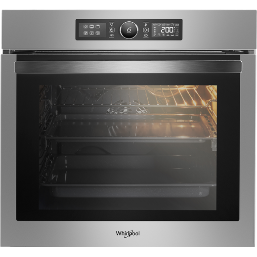 Whirlpool Absolute AKZ96220IX Built In Electric Single Oven - Stainless Steel - A+ Rated