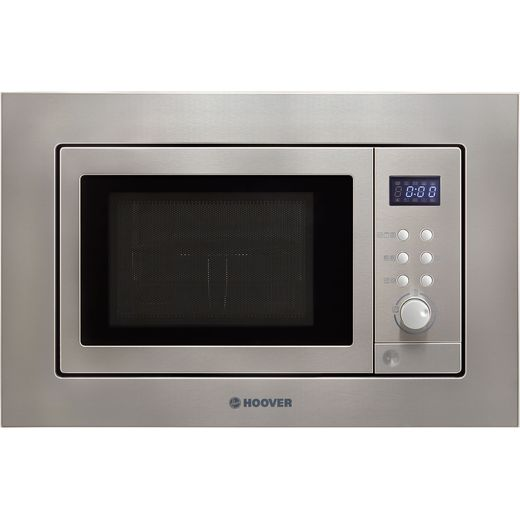 Hoover H-MICROWAVE 100 HM20GX Built In Microwave With Grill - Stainless Steel