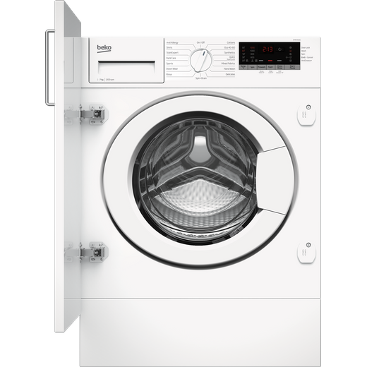 Beko WTIK72151 Integrated 7Kg Washing Machine with 1200 rpm - White - C Rated
