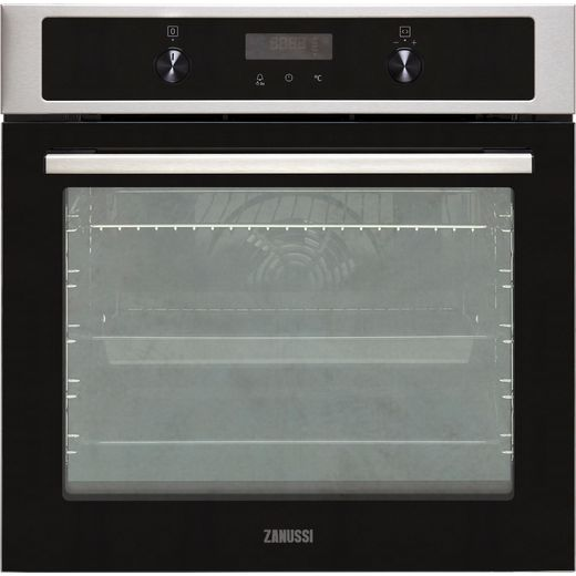 Zanussi ZOHNA7X1 Built In Electric Single Oven - Stainless Steel - A+ Rated