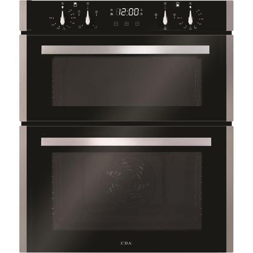 CDA DC741SS Built Under Electric Double Oven - Stainless Steel