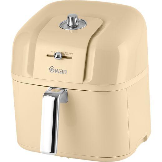 Swan Retro SD10510CN Air Fryer - Cream