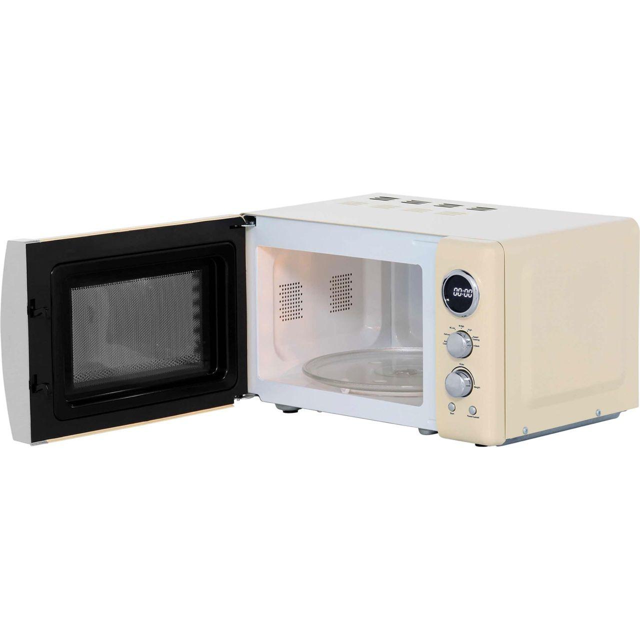 Cream Retro Microwave Ukbestmicrowave